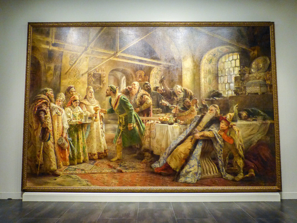 El ritual del beso (K. Makovski)