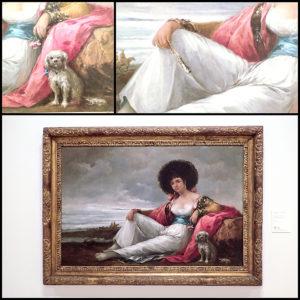 """""""La maja del perrito"""" E. Lucas Velazquez"""