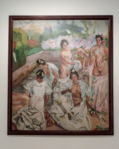 """""""El baño"""" de F. Iturrino"""