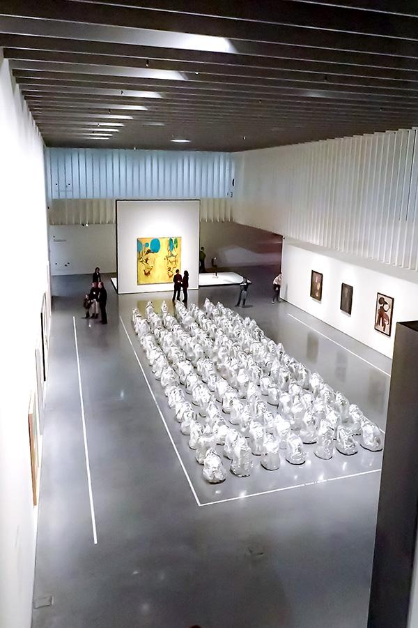 Ghost de Kader Attia en Centre Pompidou de Málaga