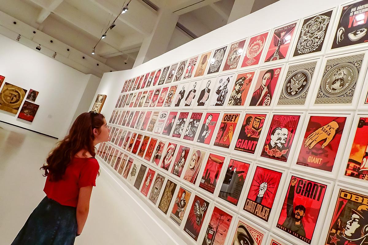 Exposición Shepard Fairey (Obey) en verano 2015