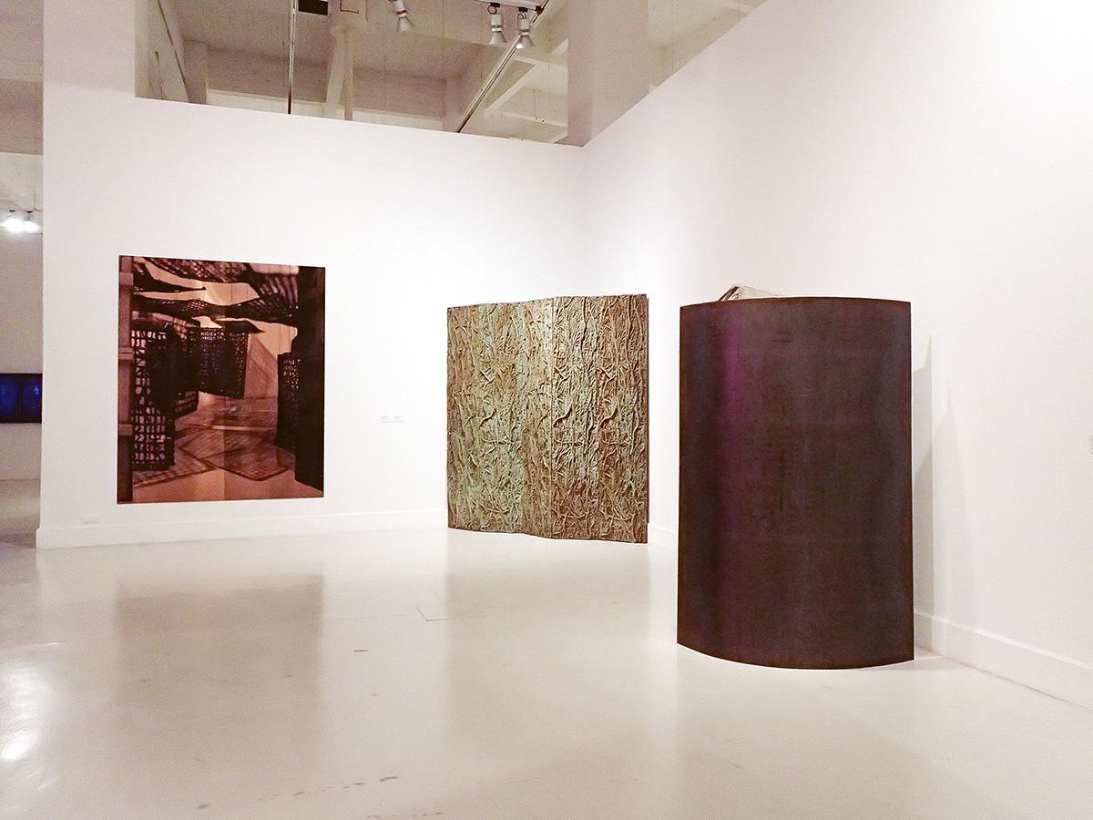 Obras de Cristina Iglesias de la Colección Carmen Riera