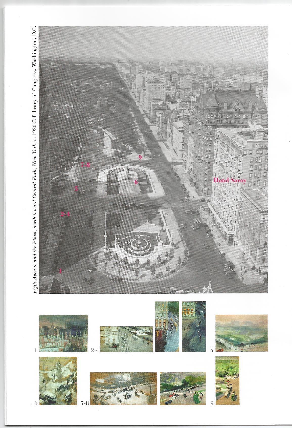Imagen del folleto de la exposición